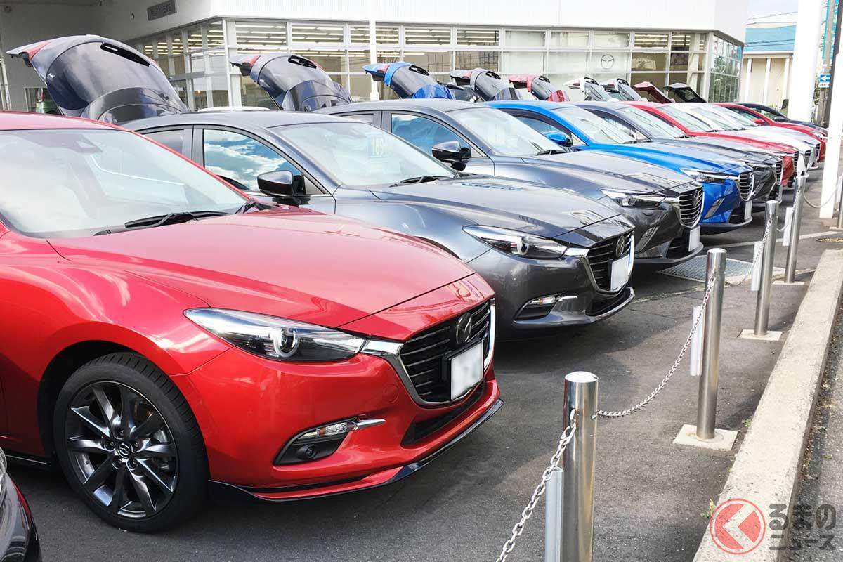 春になると中古車市場が活性化する