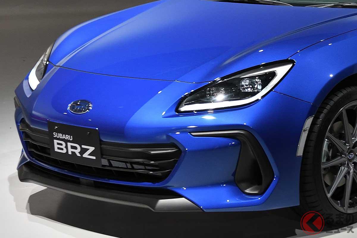 日本初公開されたスバル新型「BRZ」