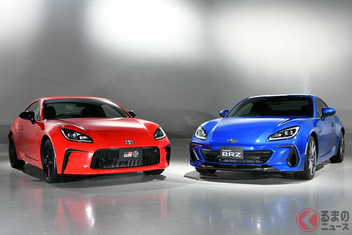 トヨタ新型「GR86」とスバル新型「BRZ」