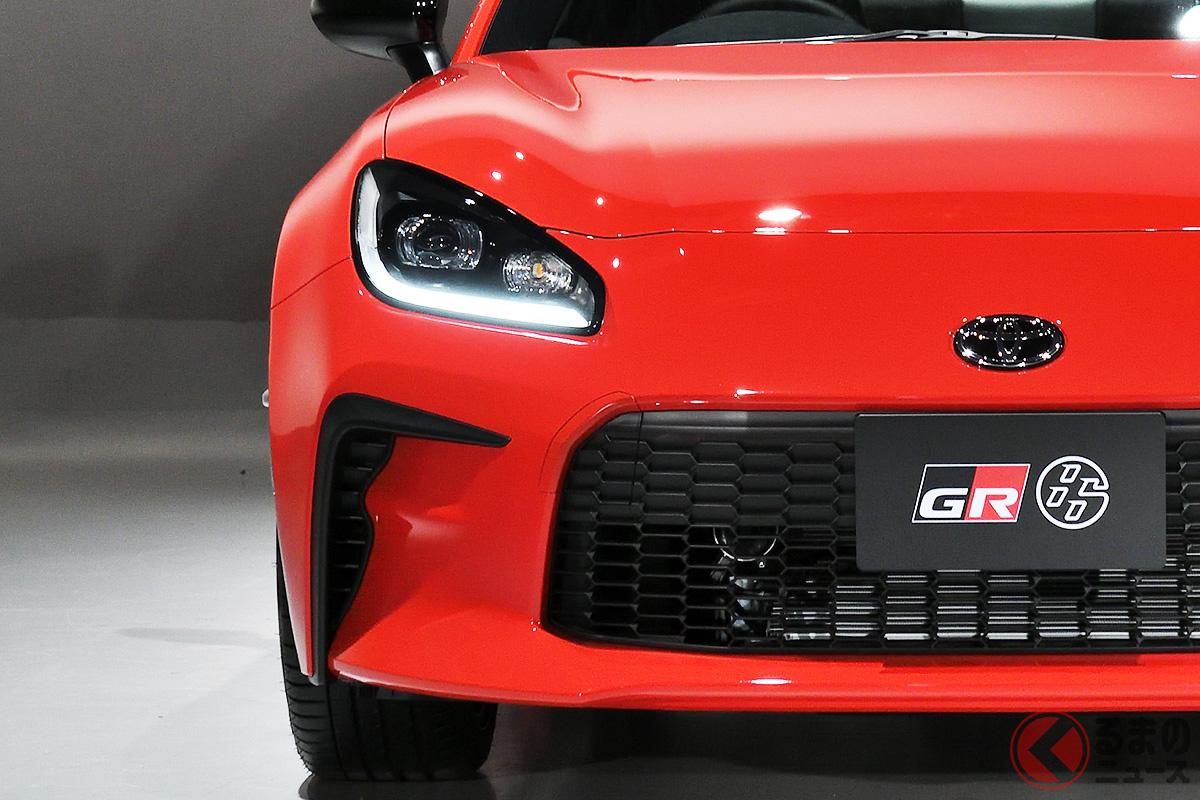 トヨタ新型「GR86」