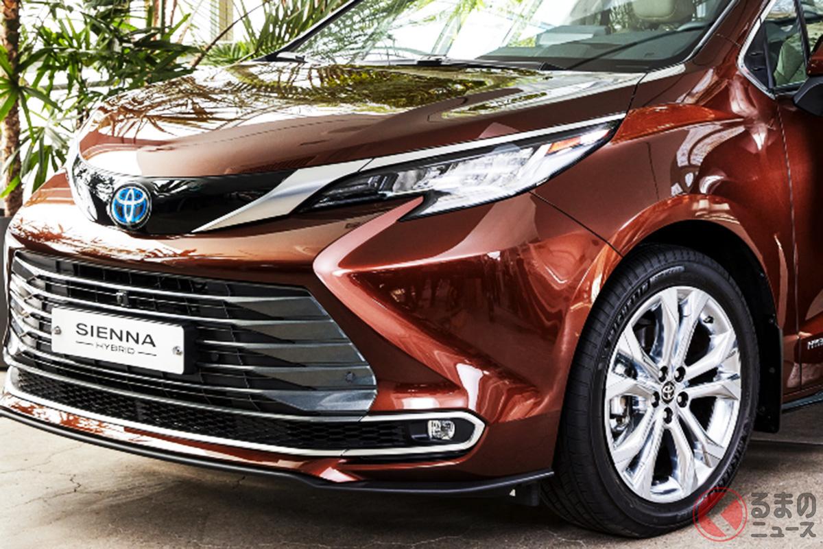 韓国で発売されたトヨタ新型「シエナハイブリッド」