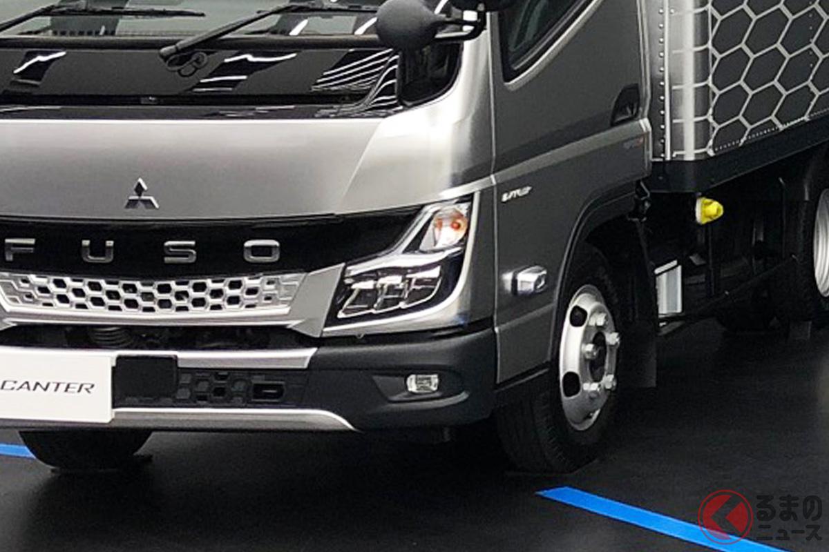 三菱ふそうトラック・バスが2021年4月14日におこなったイベント「デザイン・エッセンス」の様子