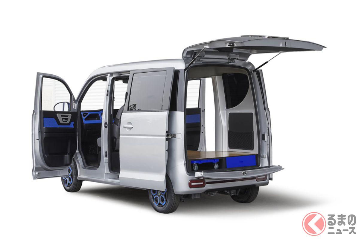 佐川急便で採用されることとなった軽EV。日本企画、中国生産という日本発&日本初の新たなプロダクトとなる(提供:ASF株式会社)
