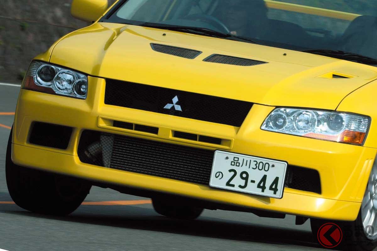 三菱「ランサーエボリューション VII」