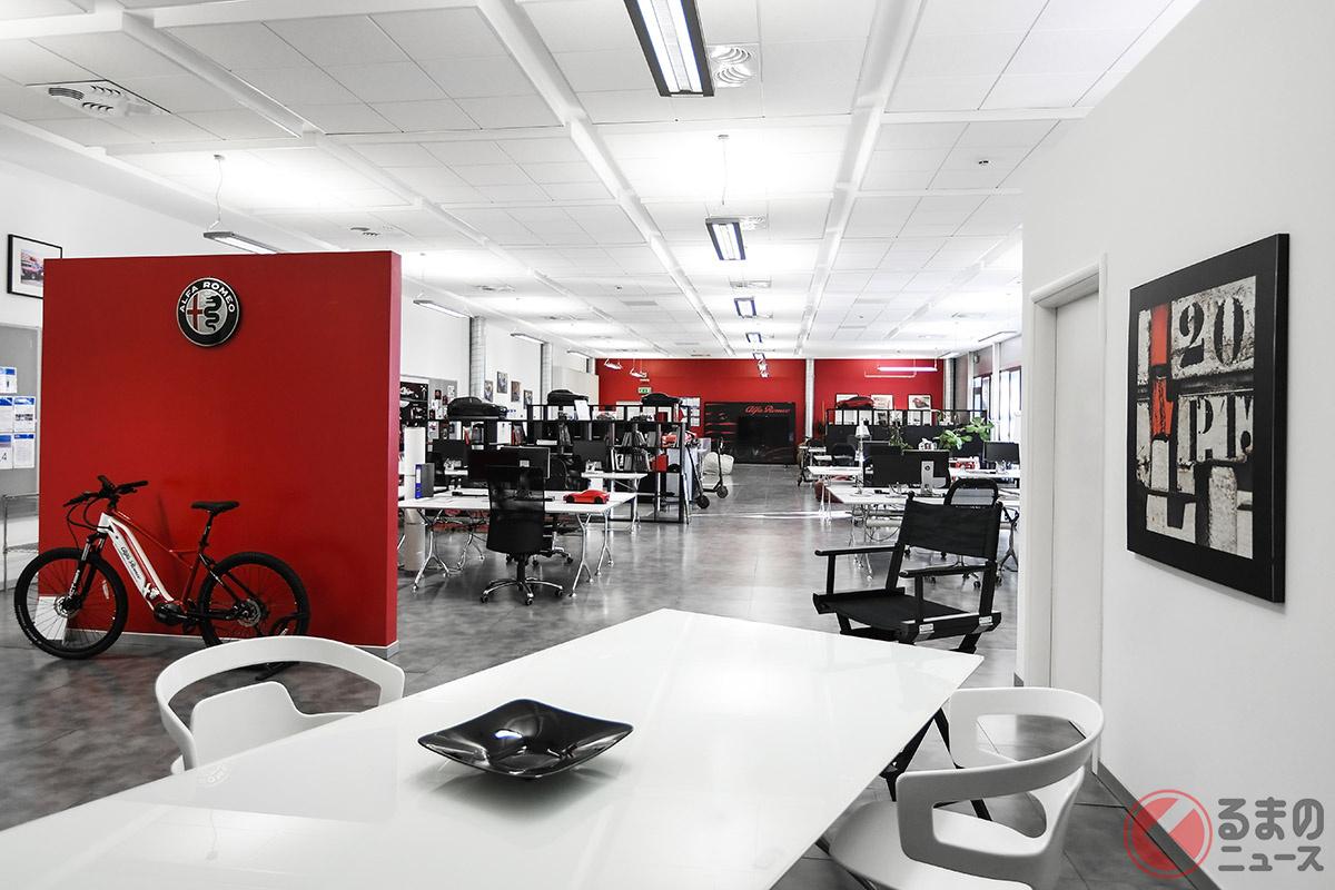 アルファ ロメオは、会社の本部とクリエイティブの本部が一体化する