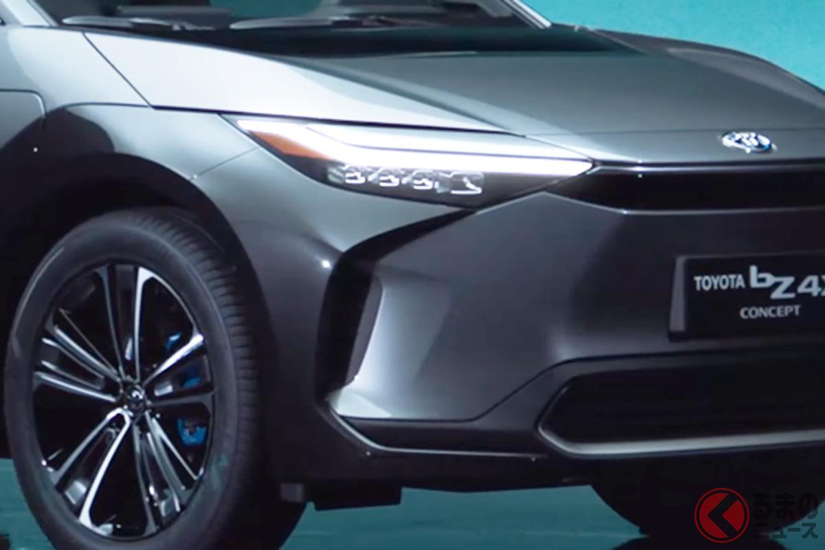 トヨタ新型「bZ4Xコンセプト」