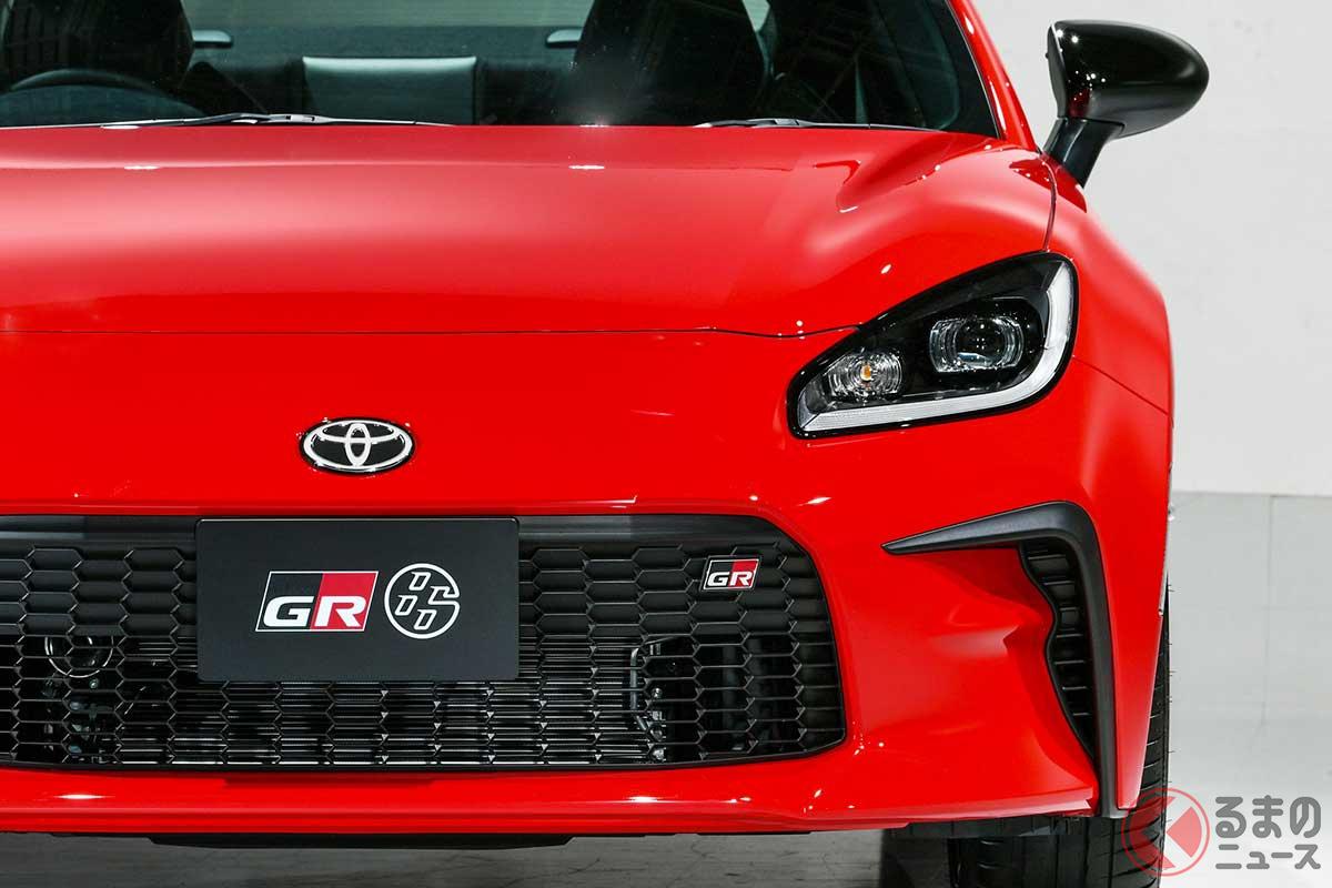 よりカッコ良く進化したトヨタ新型「GR86」