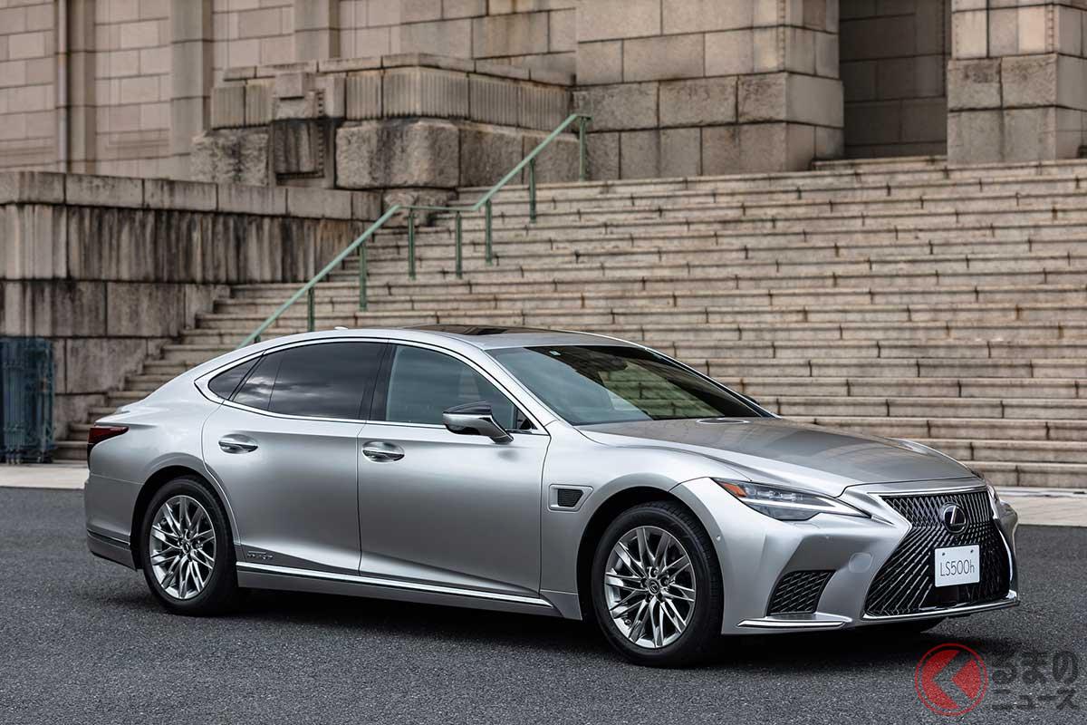 高度運転支援機能「Advanced Drive」を搭載したレクサス新型「LS500h」