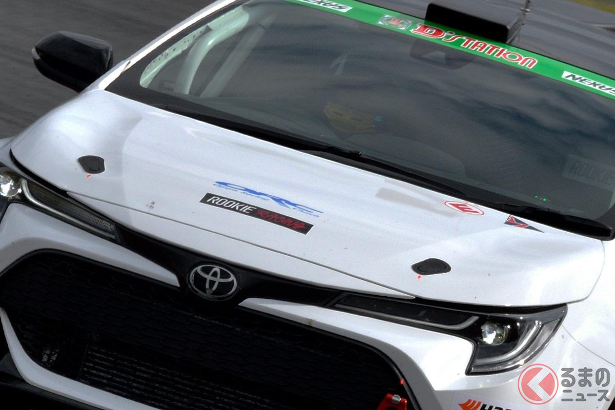 トヨタ「カローラスポーツ」をベースとした競技車両に水素エンジンを搭載して「スーパー耐久シリーズ2021」に参戦へ!