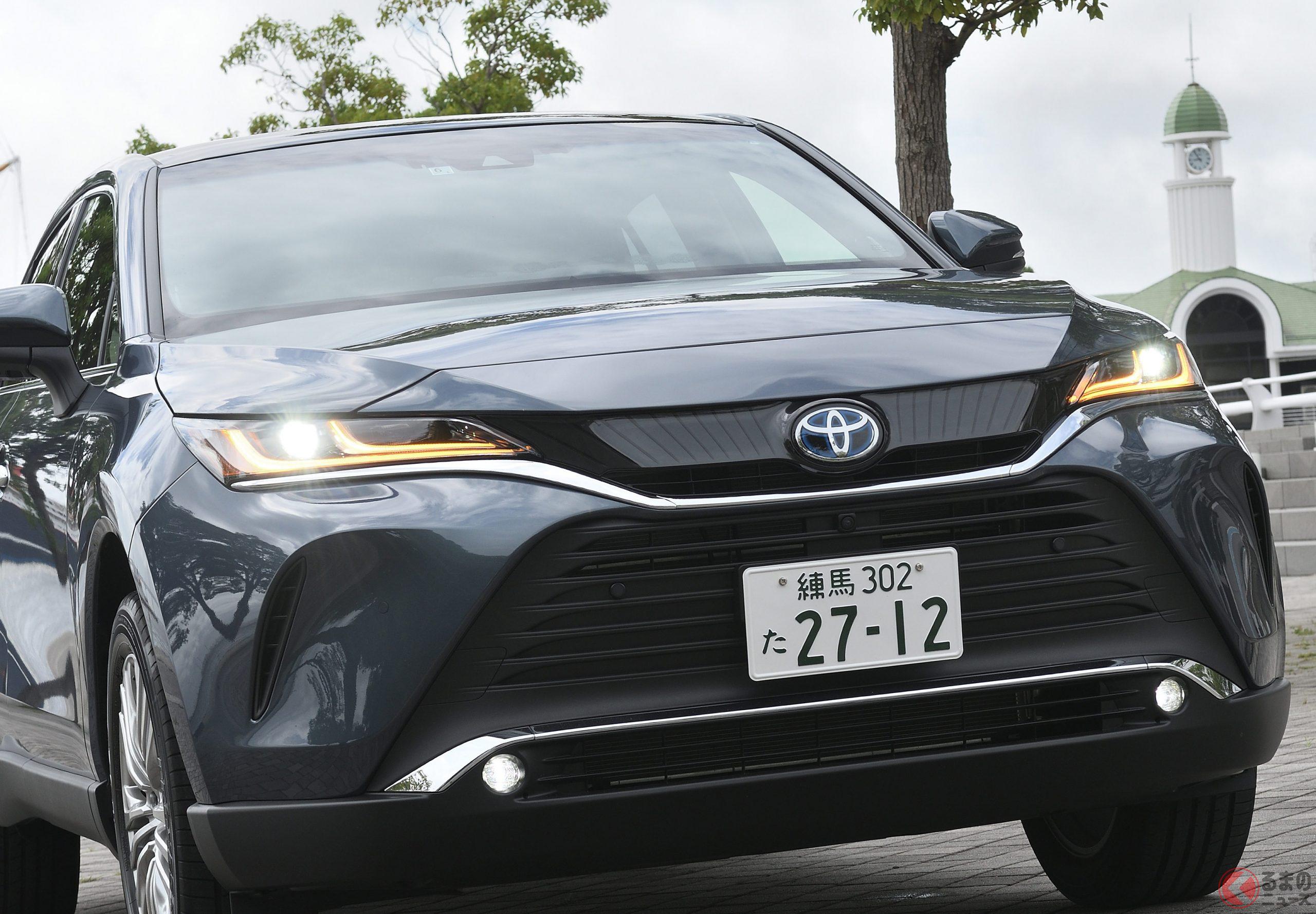 国産高級SUVとしては爆発的な人気を誇るトヨタ「ハリアー」なぜ売れているのか?