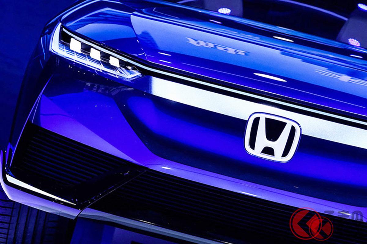 中国でホンダブランド初となるEVコンセプトカー「Honda SUV e:concept」(画像は北京2020の公開モデルで、今回の発表とは異なる)