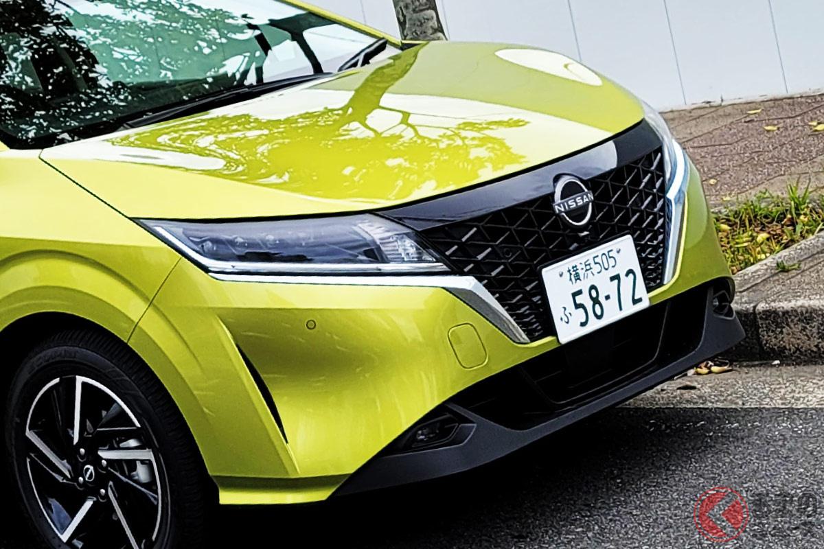 2021年3月に発売された日産新型「ノート」の4WD仕様