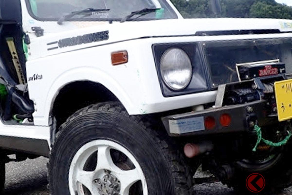 自動車環境問題NGO「ZEVEX~ゼベックス」が制作したEVジムニー
