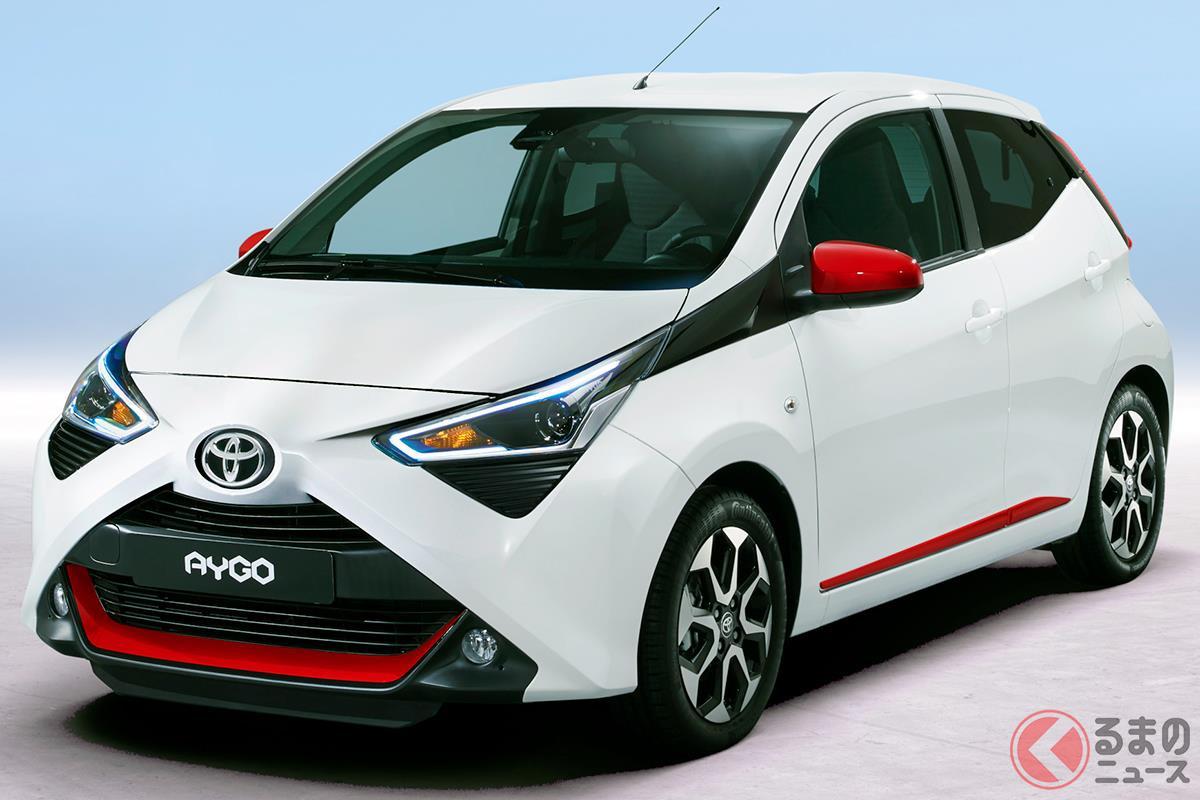軽自動車を除いてトヨタでもっともコンパクトなモデルの「アイゴ」