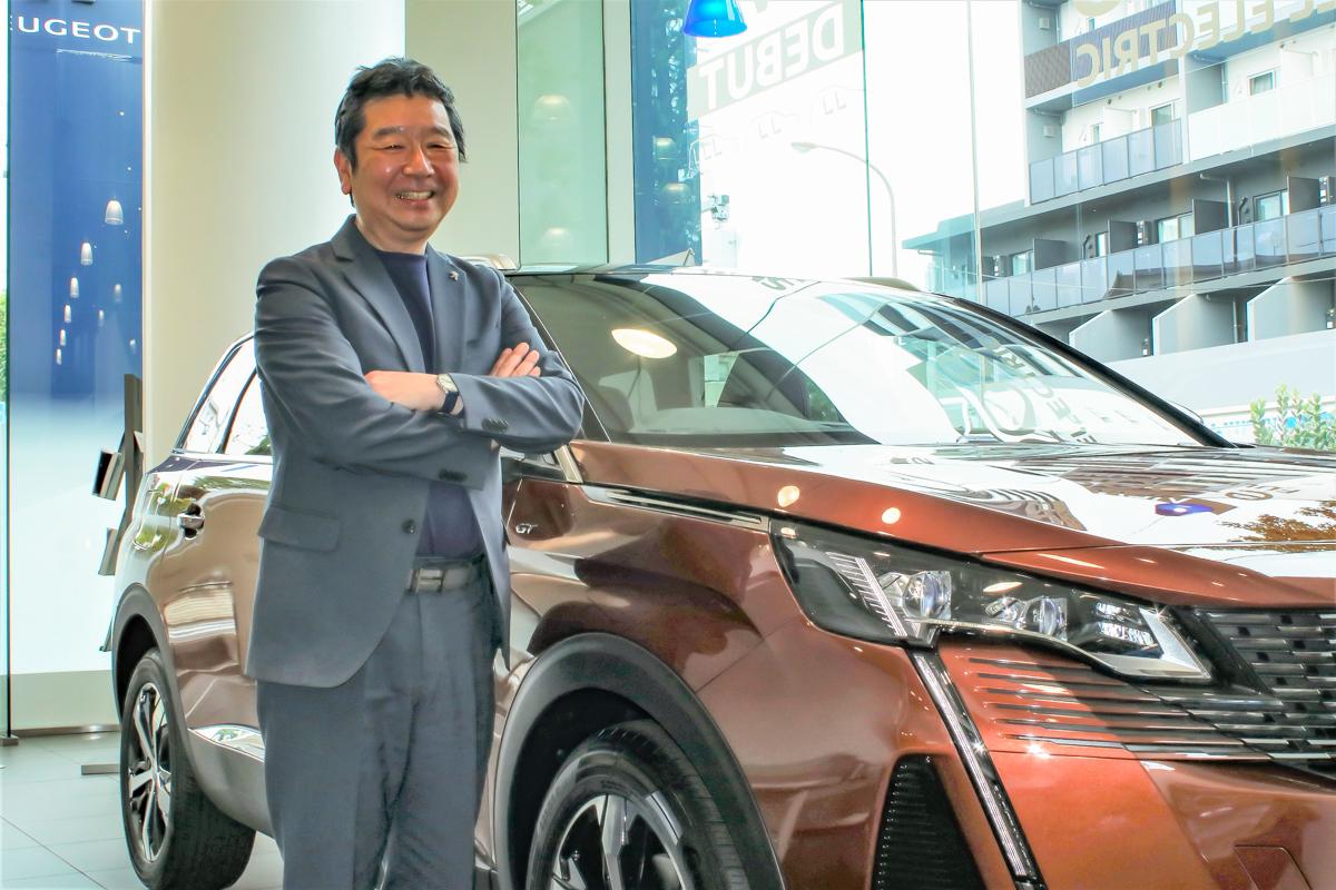 グループPSAジャパン 代表取締役社長の木村隆之氏