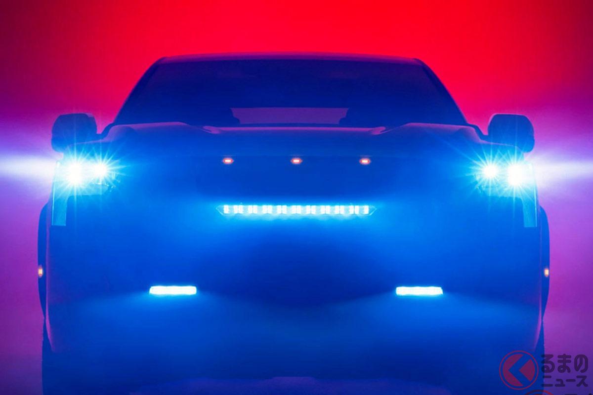 新型「タンドラ(2022年モデル)」の正式発表に先駆けて公開されたティザービジュアル