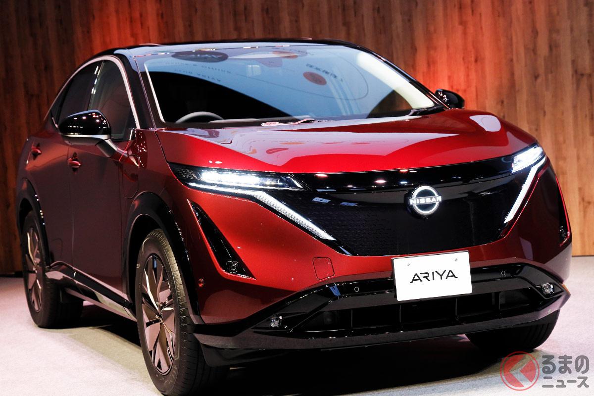 世界に先駆けて日本で予約開始した日産新型「アリア リミテッド」(日本限定車)