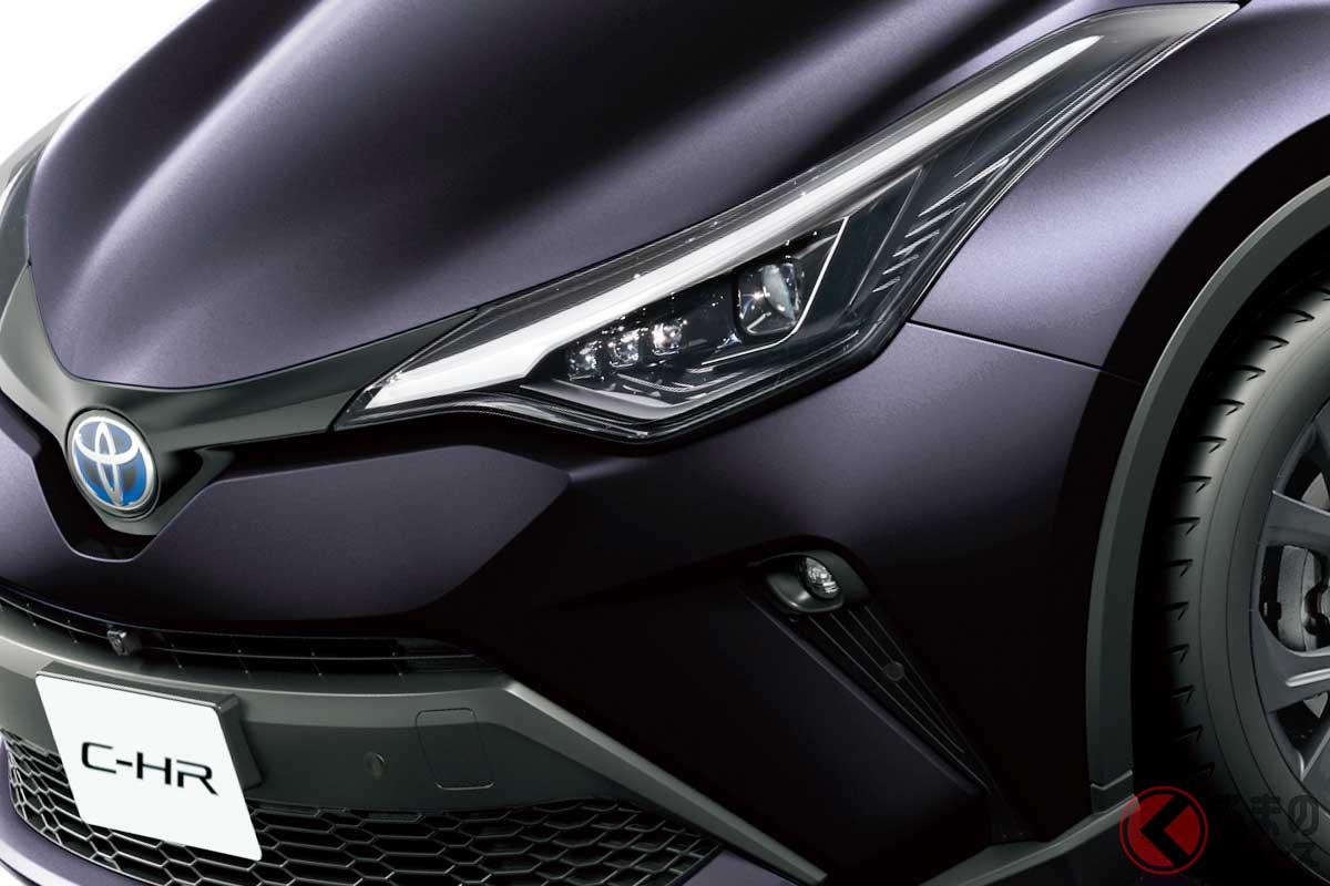 内外装にブラックパーツを取り入れたトヨタ「C-HR」の特別仕様車