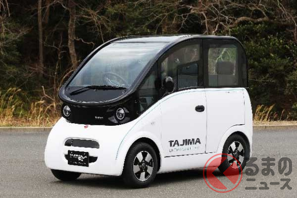 開発中の超小型EV