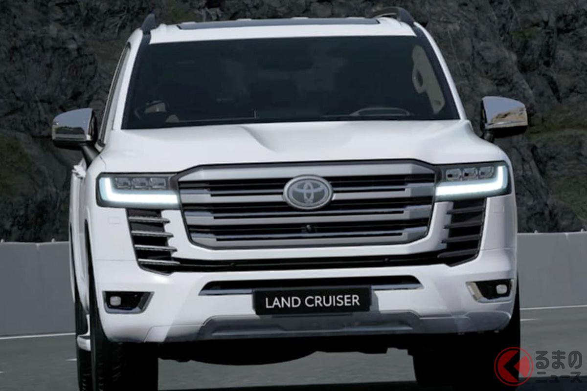 中東市場では世界に先駆けて新型「ランドクルーザー」を発売(画像は中東仕様)