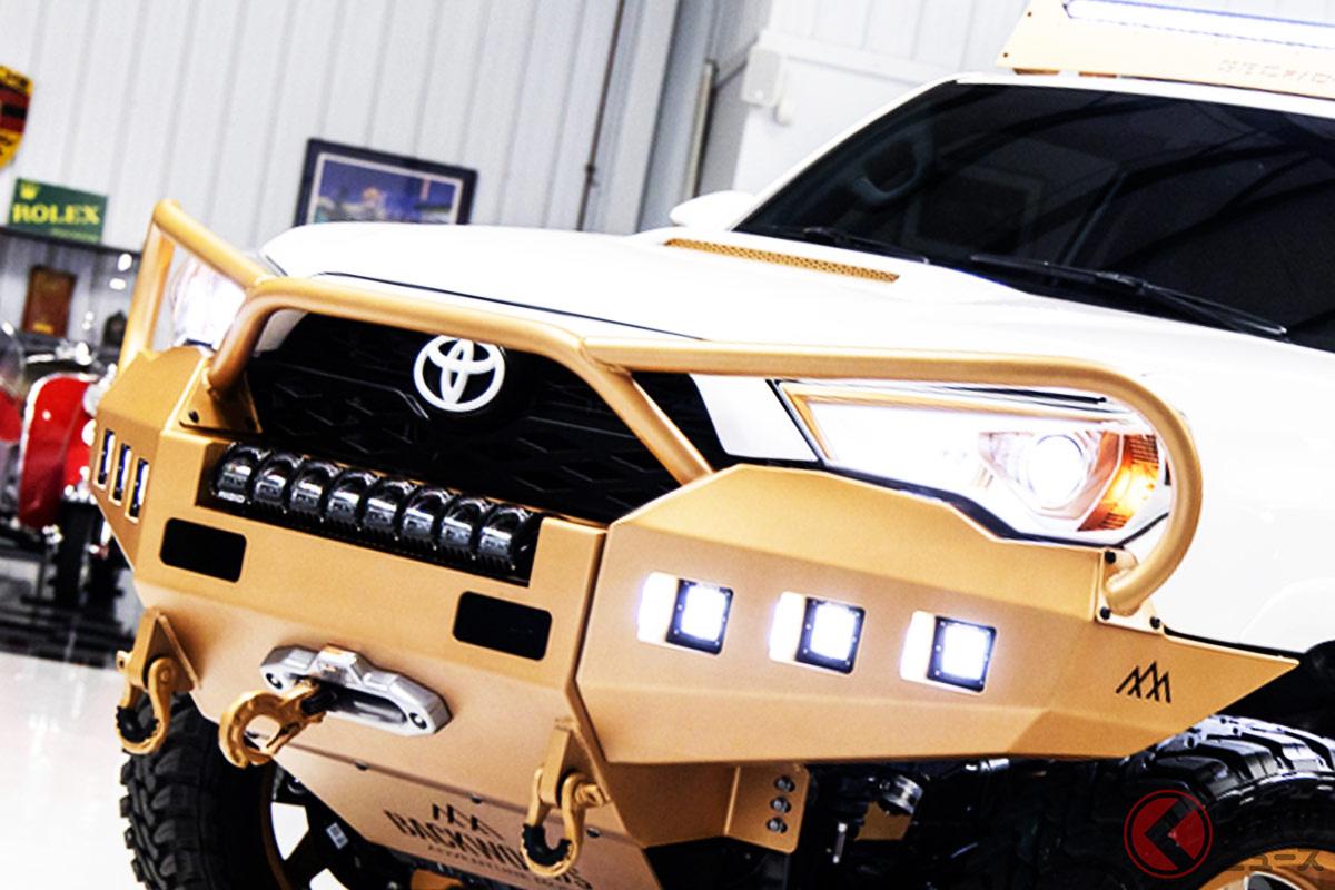 金ピカの最強「4Runner TRD Off-Road Premium custom」が新車価格の2倍となる800万円で落札!? (photo:Barrett Jackson Auction)