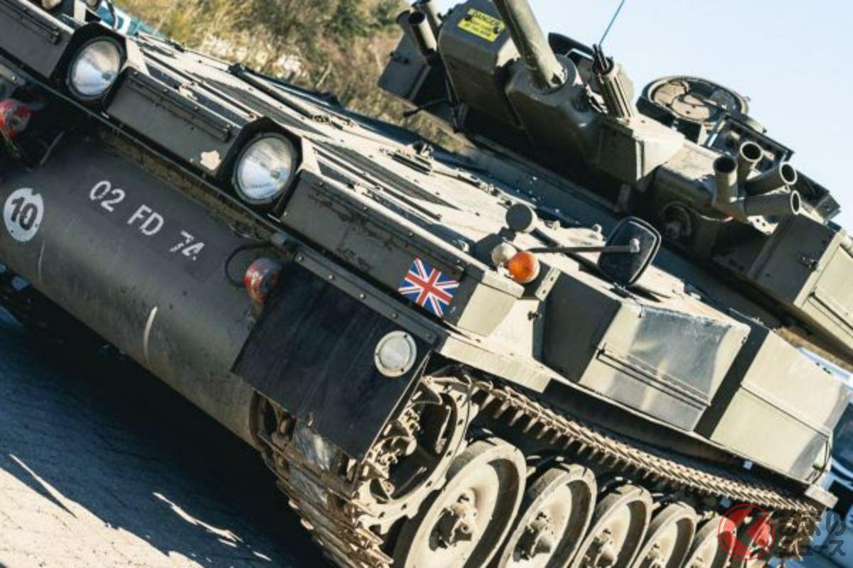 850万円で落札されたアルヴィス「セイバー軽戦車」(photo:Collecting cars)