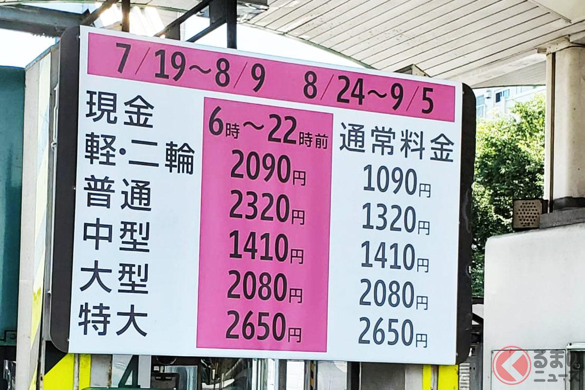 なぜ五輪開催中には首都高の通行料金は1000円上乗せとなるのか?(画像提供:osamu-X @surfking007)