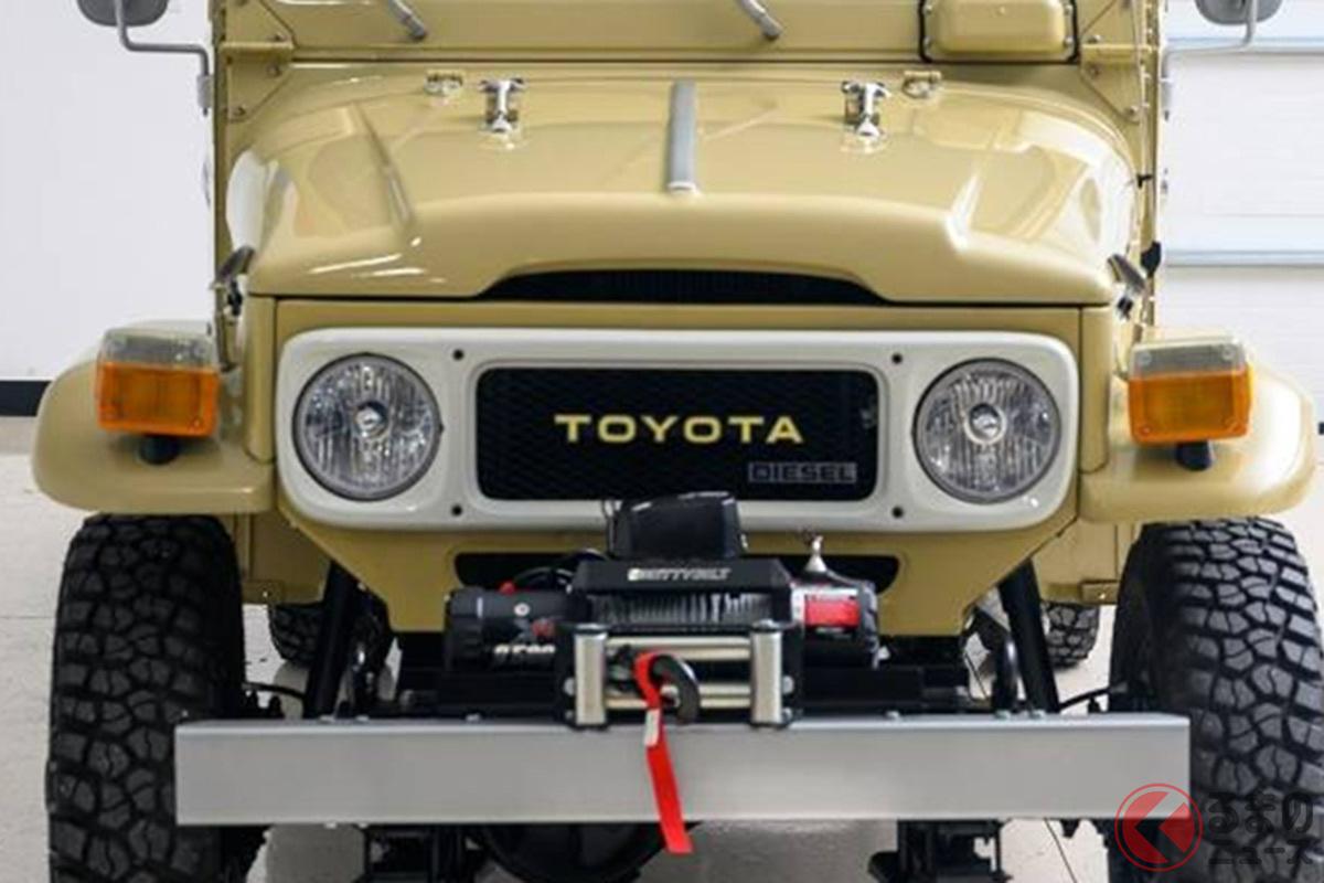 これはスゴイ! トヨタ「ランドクルーザー HJ45 Troopy(オーストラリア仕様)」が新車並にフルレストアされている(photo:Historics Auctioneers)
