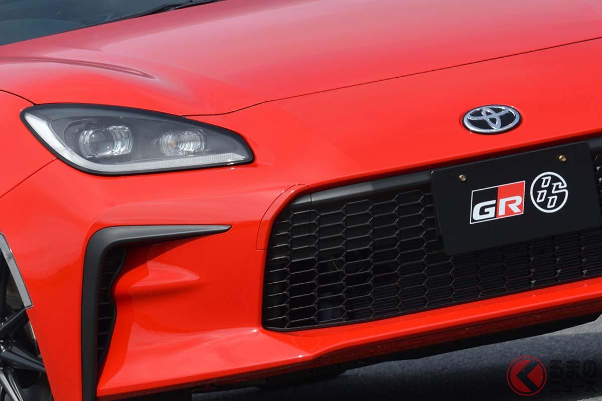 2021年秋頃発売される予定のトヨタ新型「GR86」