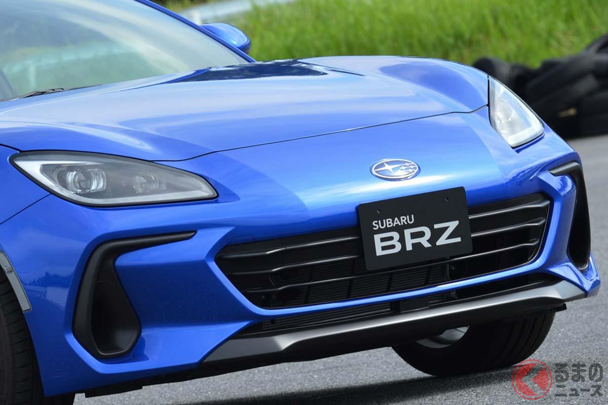 2代目となるスバル新型「BRZ」