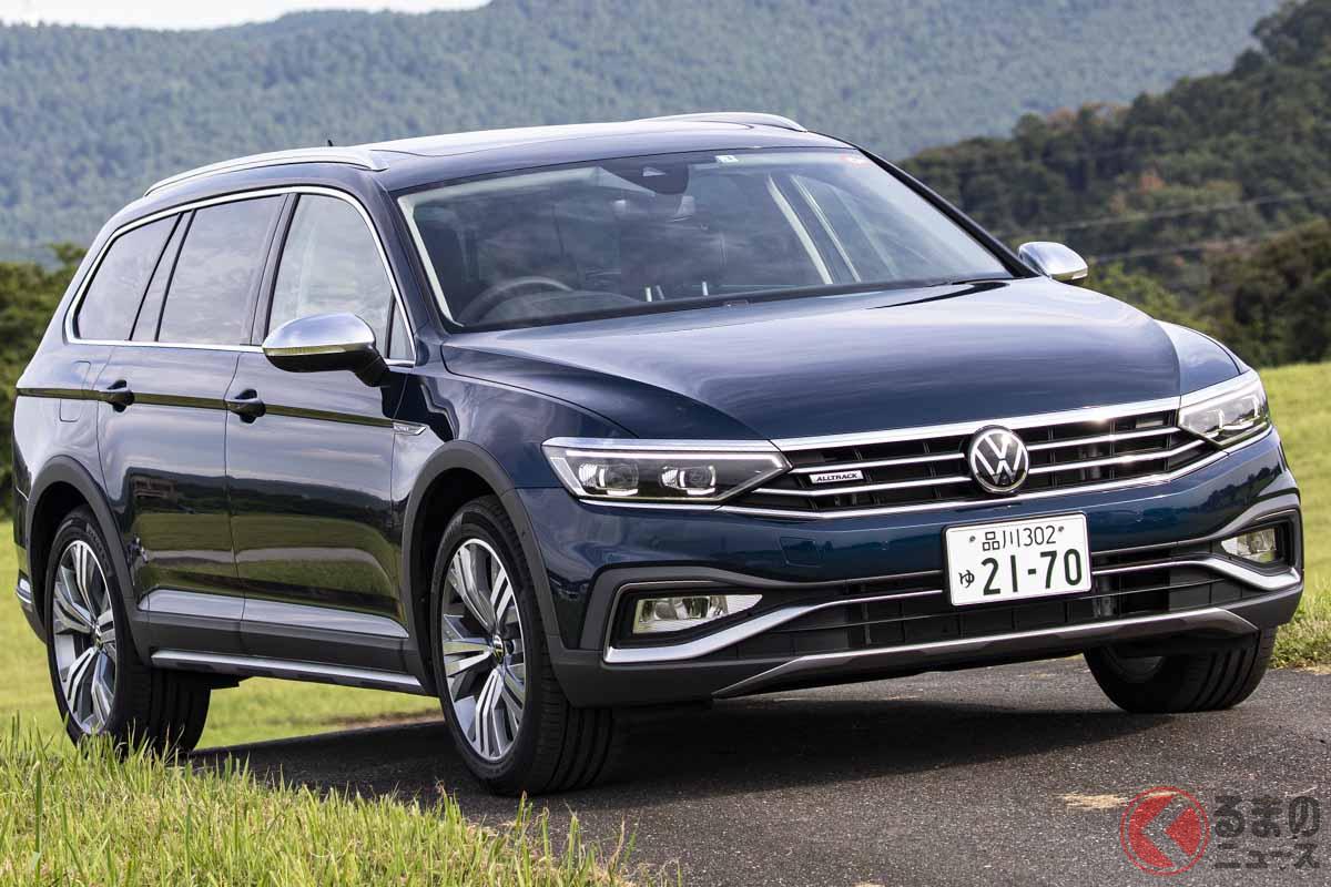 VW改良新型「パサート・オールトラック」
