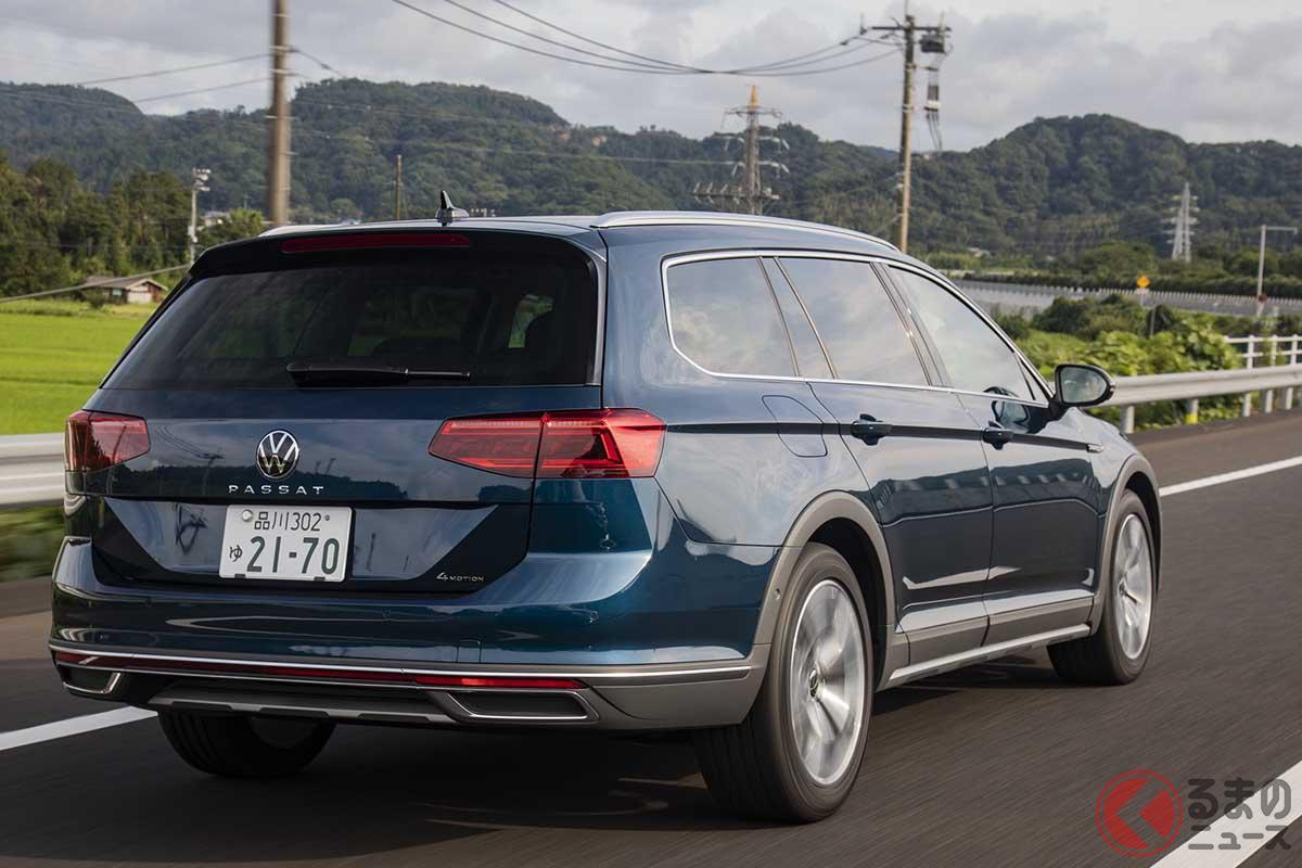 VW改良新型「パサート・オールトラック」の走り