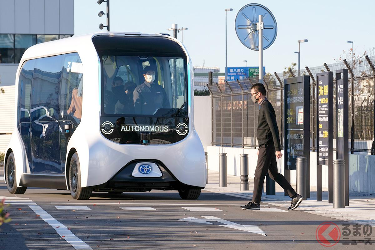 自動運転社会の実現はさまざまなハードルを乗り越えなければいけない(画像は事前取材会の様子)