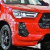 トヨタ新型「ハイラックスGRスポーツ」発表! TOYOTA強調グリル&ローダウン仕様設定でド迫力 タイで登場