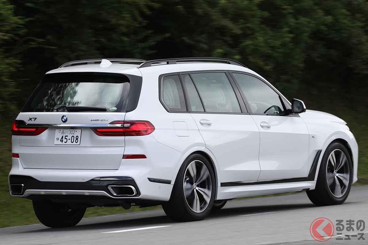 BMW「X7 xドライブ40d Mスポーツ」の走り