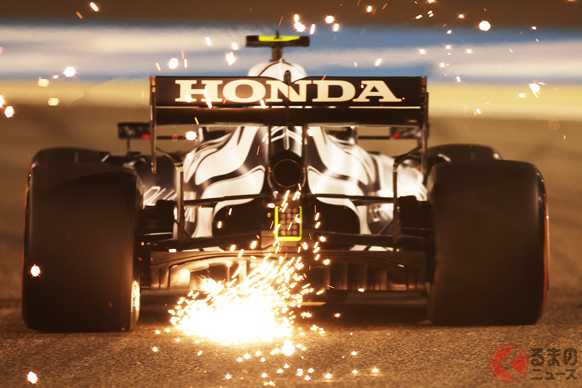 ホンダF1最後の勇姿は見れず…(画像は2021年シーズン開幕戦のピエール・ガスリー選手)