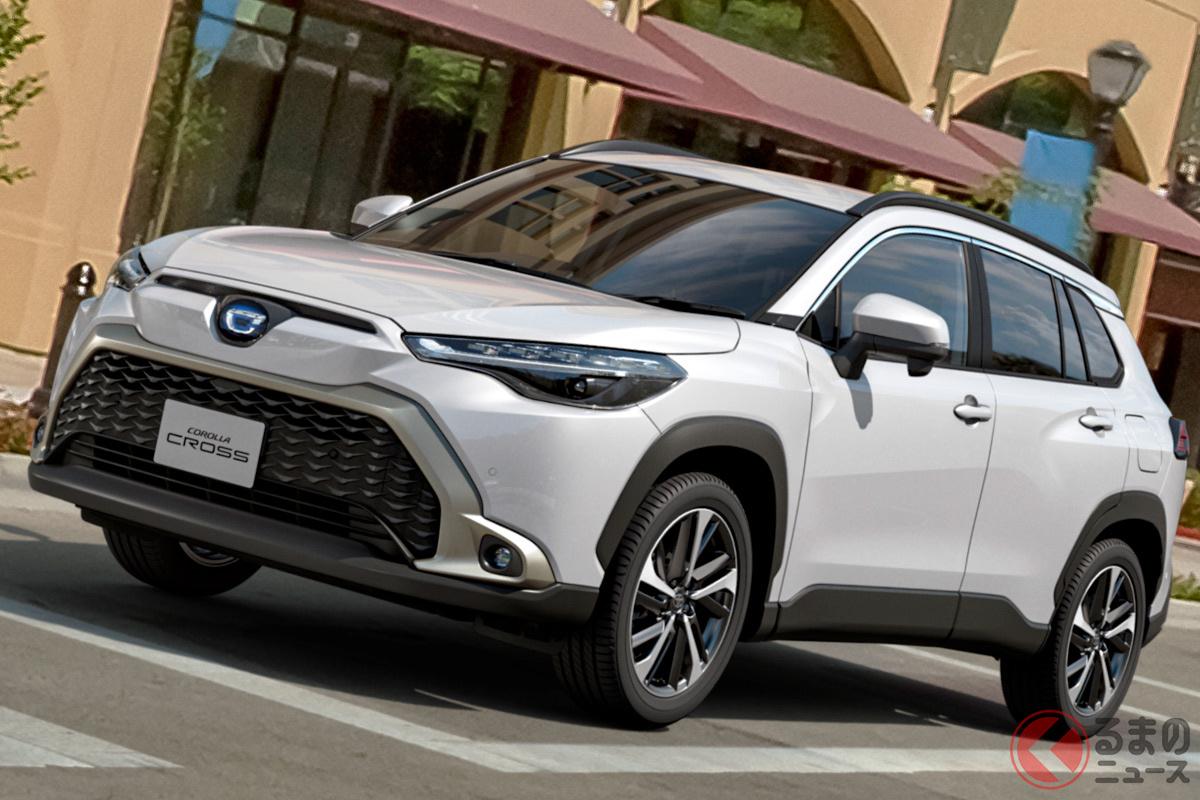 新型カローラクロスは、Cセグメントながら199万9000円からの価格で設定! ライバル激震の国内SUV市場はどうなるのか?