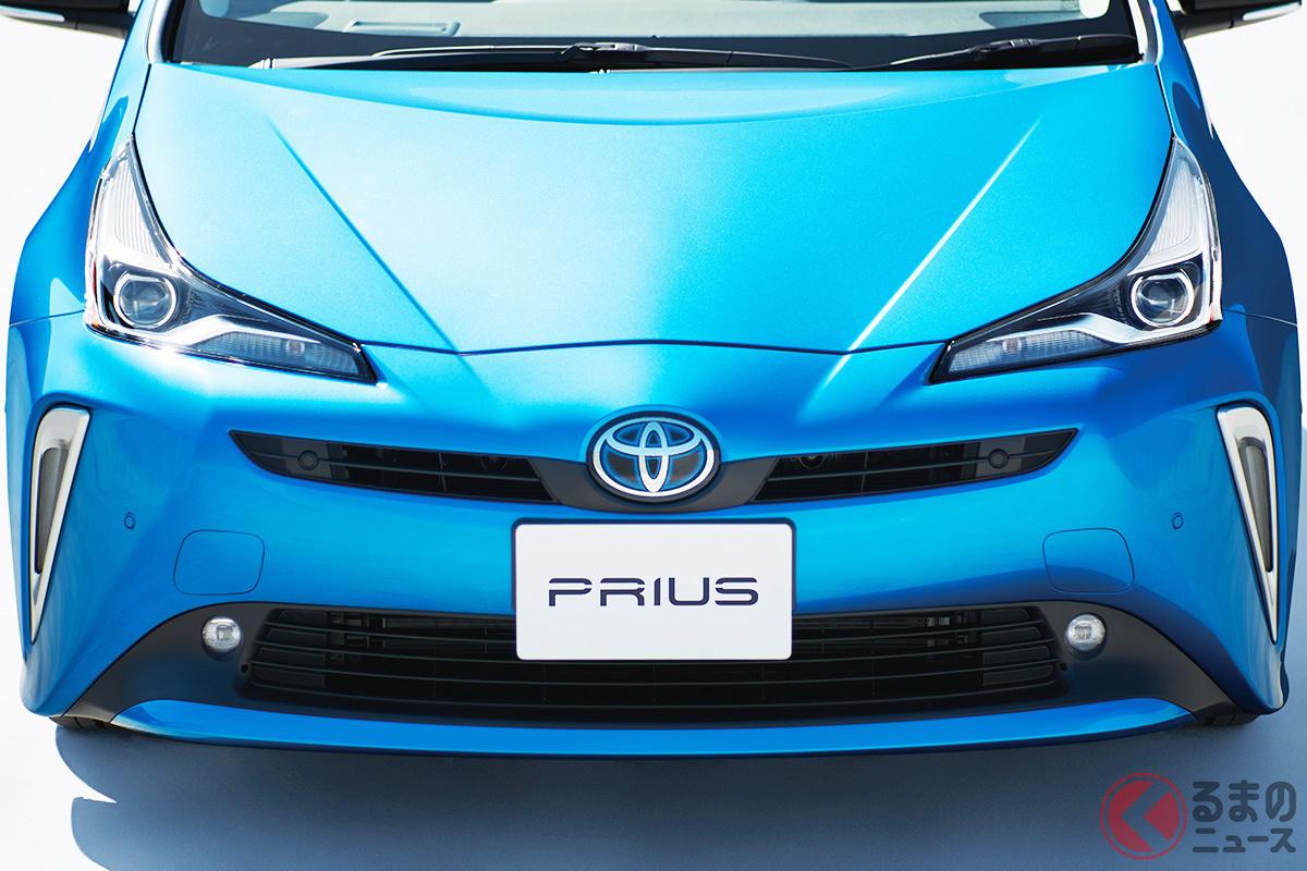 2020年代前半に全固体電池をハイブリッド車から搭載!(画像はトヨタを代表するハイブリッド車の「プリウス」)