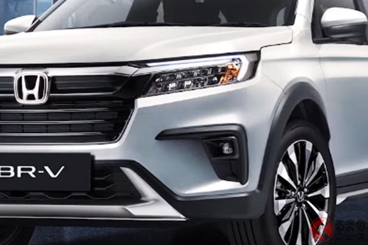 インドネシアで発表されたホンダ新型「BR-V」