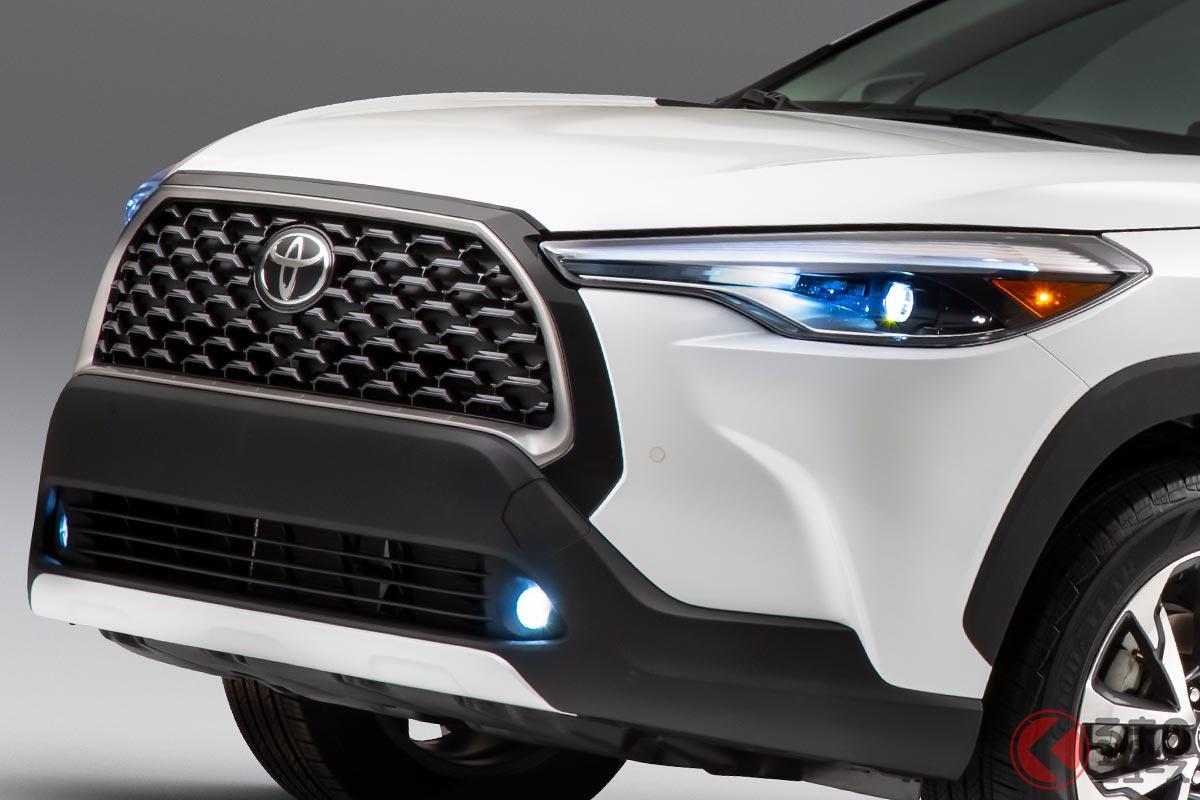 2021年9月発売予定のトヨタ「カローラクロス」(写真は北米仕様)