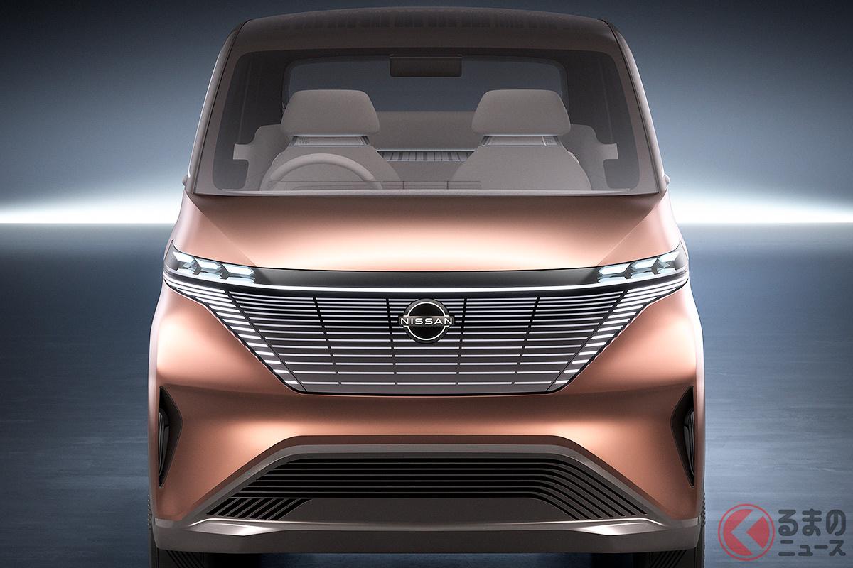 日産・三菱の新型軽EVは2022年度初頭に発売。補助金などで200万円を切るのか?(画像は日産のコンセプトモデル)