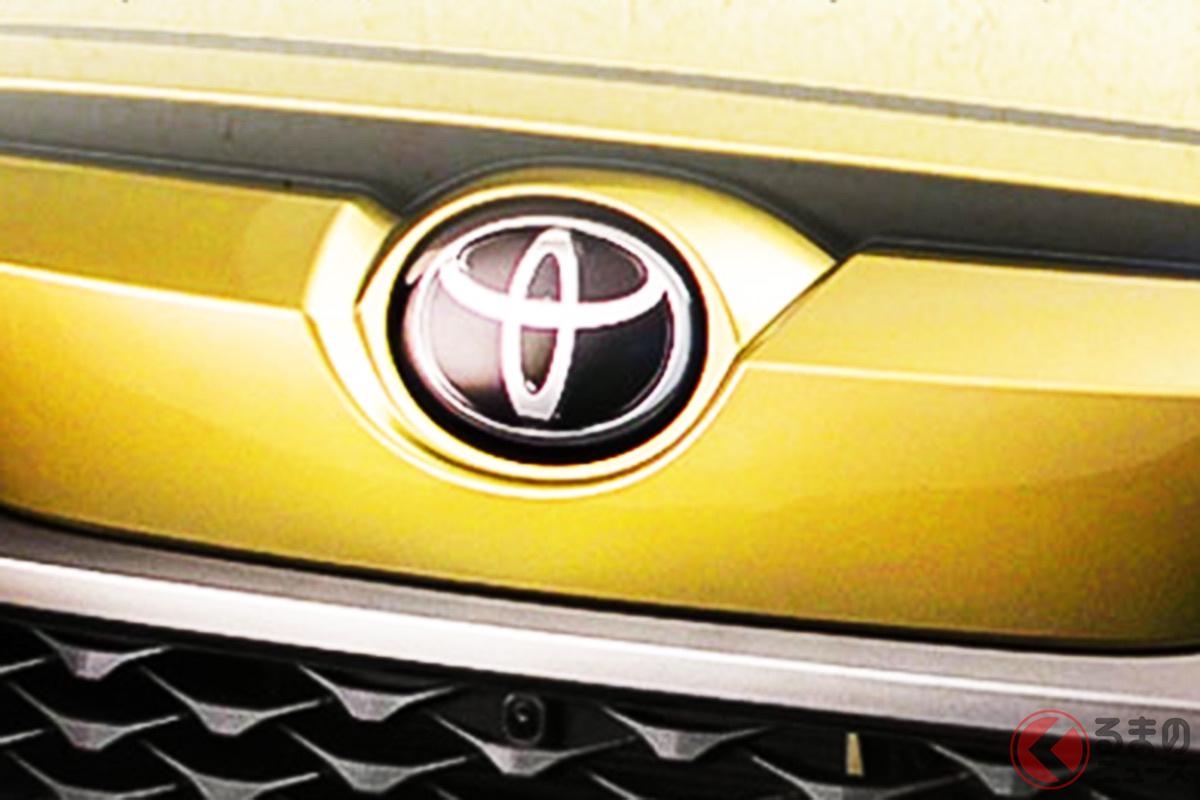 日本仕様のカローラクロスは「Cマーク」でも中国のフロントランダーでは「トヨタマーク」を採用?