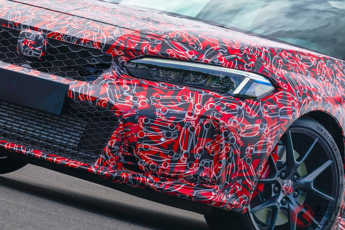 これが新型「シビックタイプR(開発車両)」 2022年に導入される!