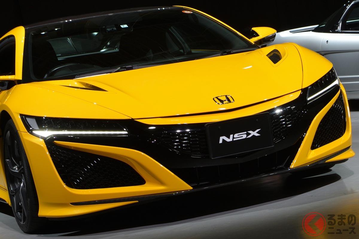 2022年12月に生産終了となるホンダ「NSX」