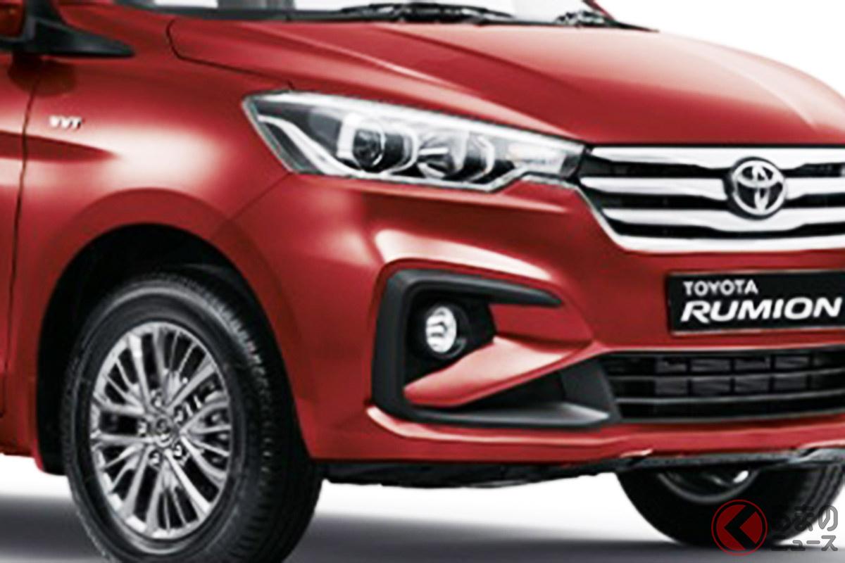 南アフリカで発表されたトヨタ新型「ルミオン」(画像:トヨタ 南アフリカ 公式ウェブサイト)