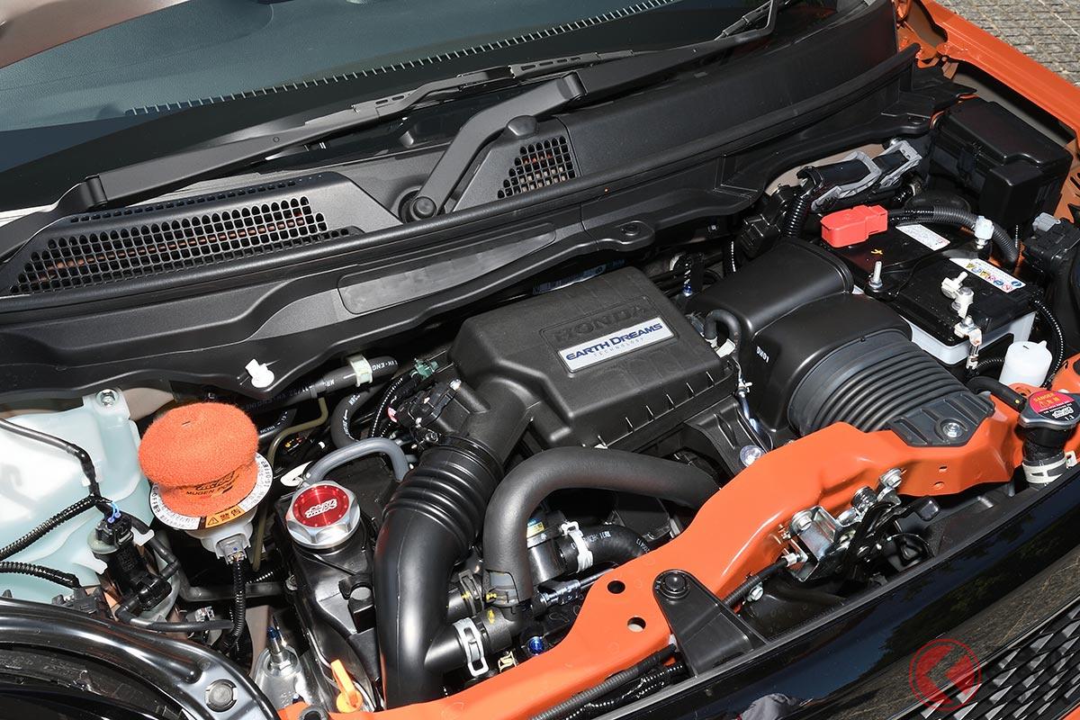 ホンダの軽「N-ONE RS」のターボエンジン
