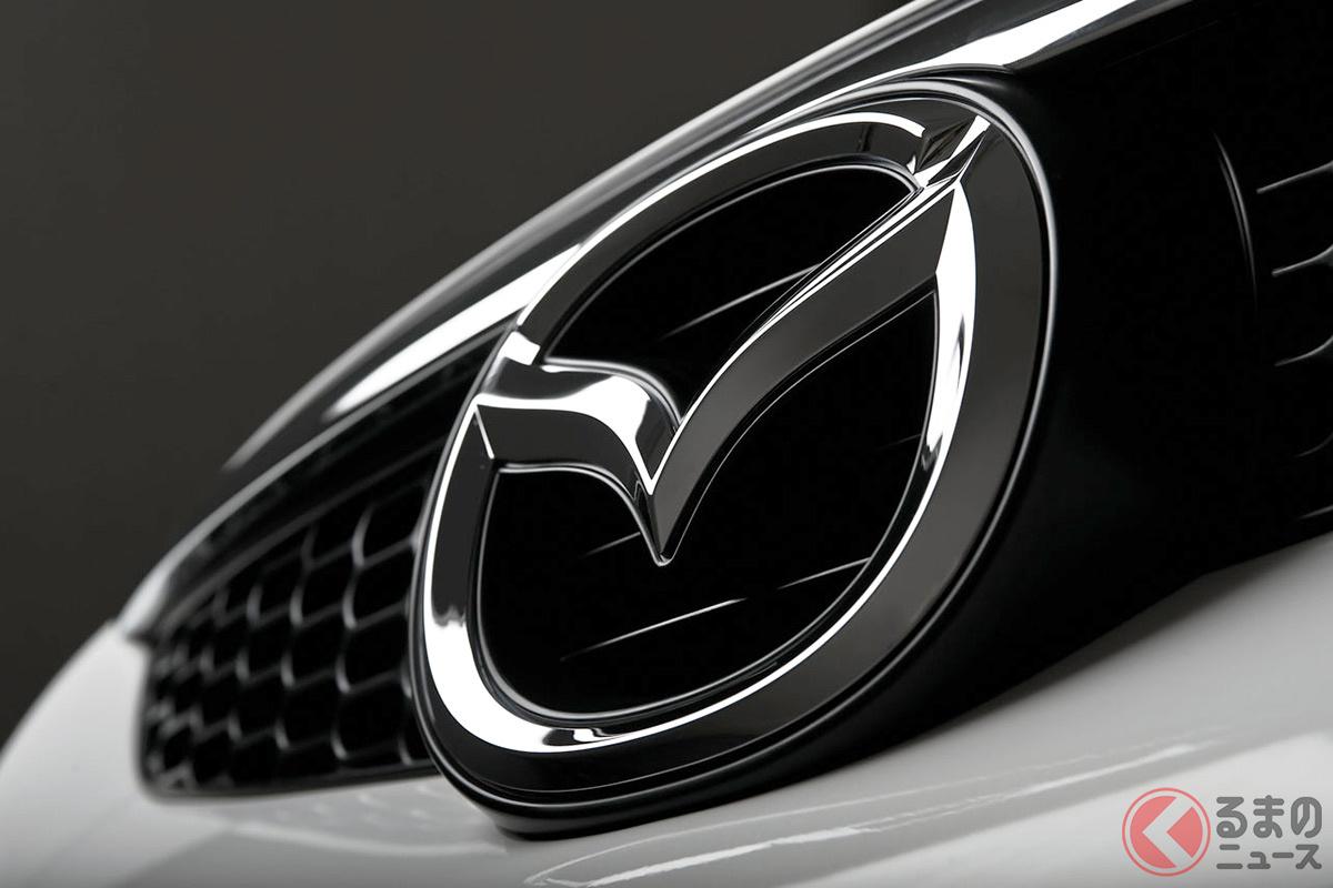 欧州マツダが世界初公開した新型「CX60」「CX-80」のものと見られるエンブレム&グリルのデザイン