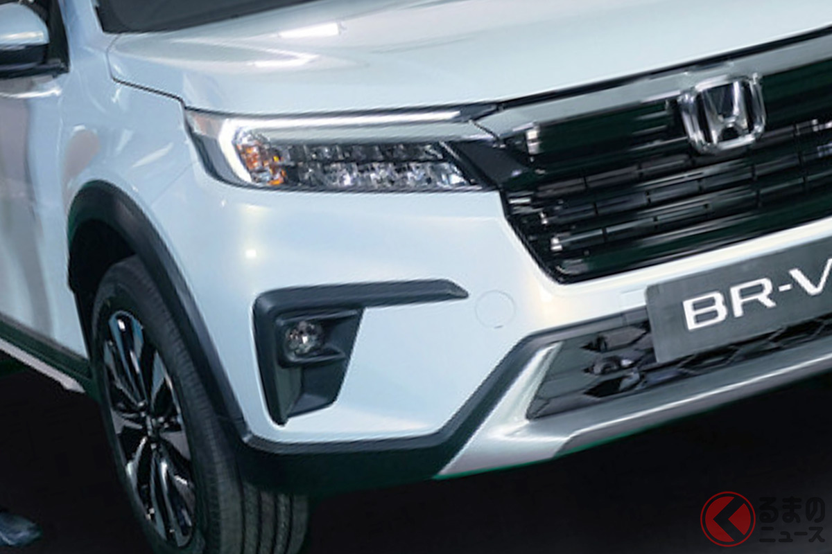 タフ顔になった? インドネシアで発表されたホンダ新型「BR-V」