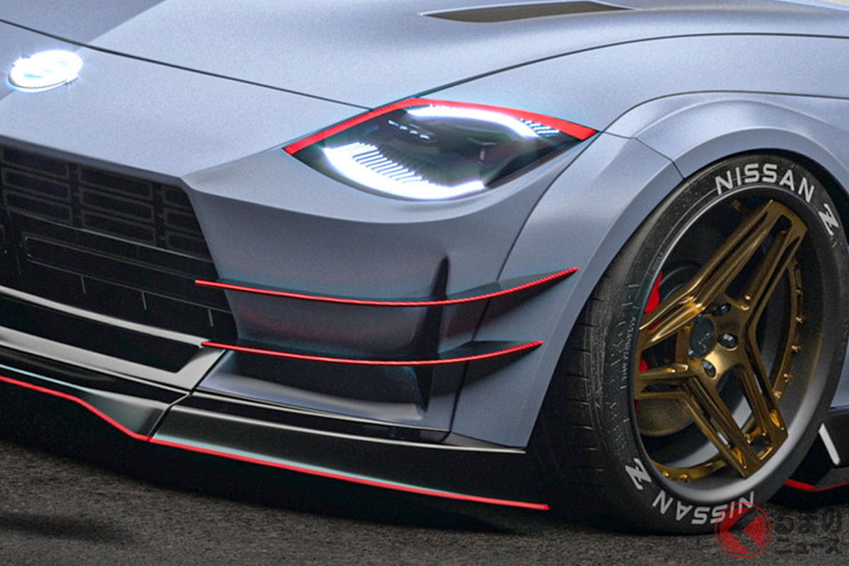 新型「フェアレディZ」のカスタマイズレンダリング(Photo:JOTA Automotive)