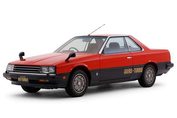 1981年発売の6代目「スカイライン」(画像:日産)。